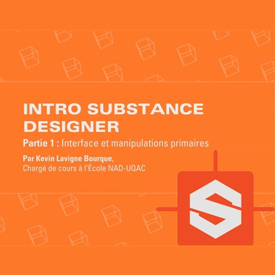 Introduction au logiciel Substance Designer