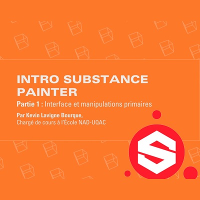 Introduction au logiciel Substance Painter