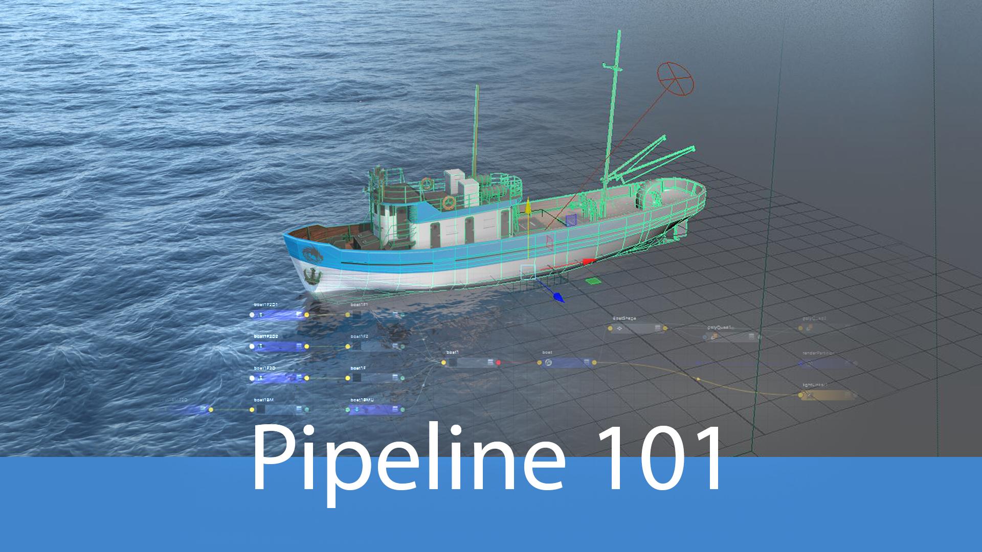 Pipeline 101: Introduction au pipeline (films d'animation et effets spéciaux)