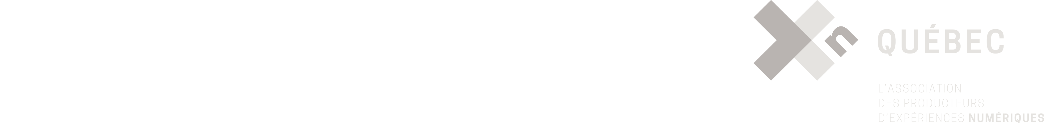 the Quebec Film and Television Council (QFTC), La Guilde du jeu vidéo du Québec and Xn Québec.